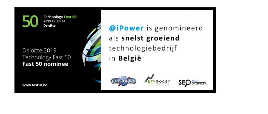 Deloitte Fast 50 2019 Belgium