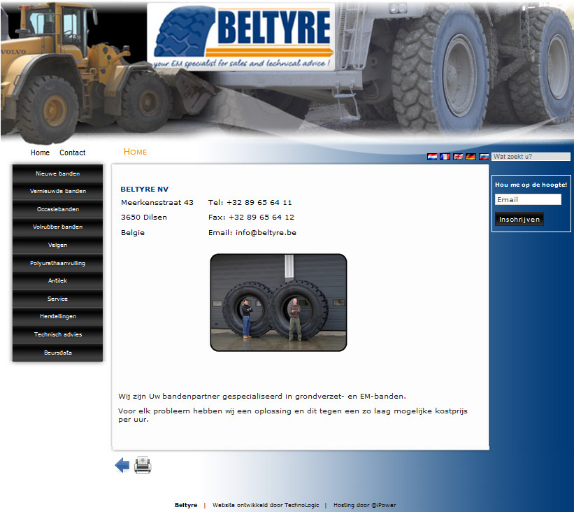 Beltyre International Trading nv - Dilsen